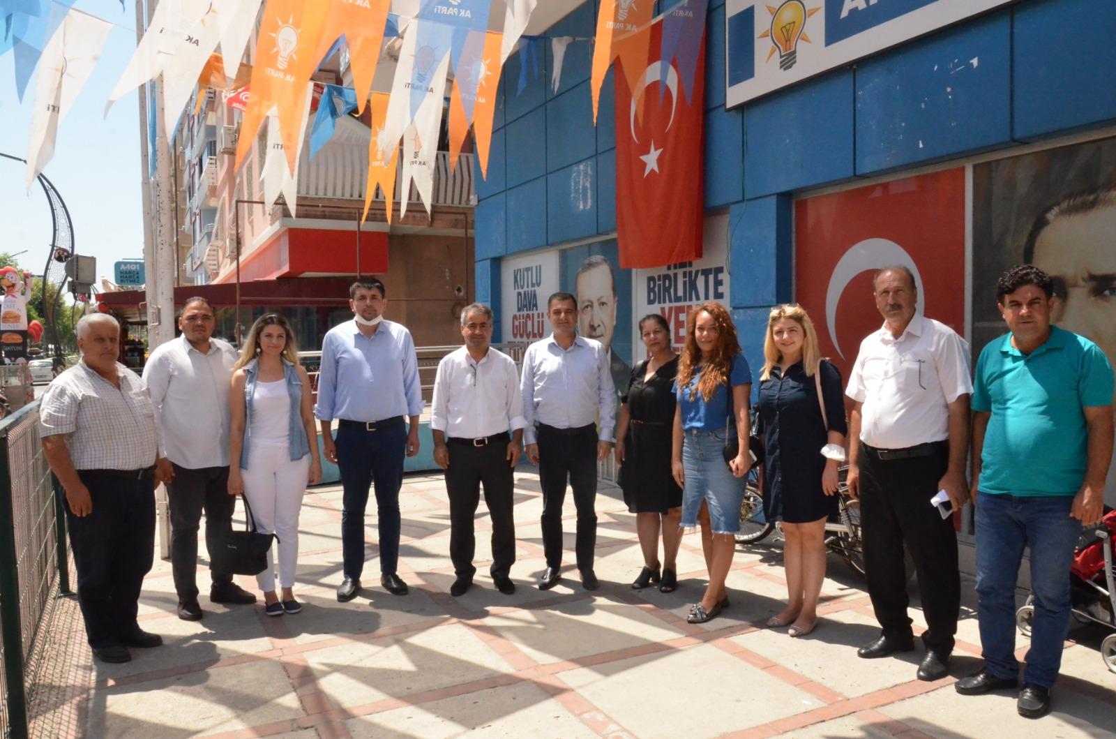 CHP'DEN AKPARTİ'YE' HAYIRLI OLSUN VE BAYRAM ZİYARETİ