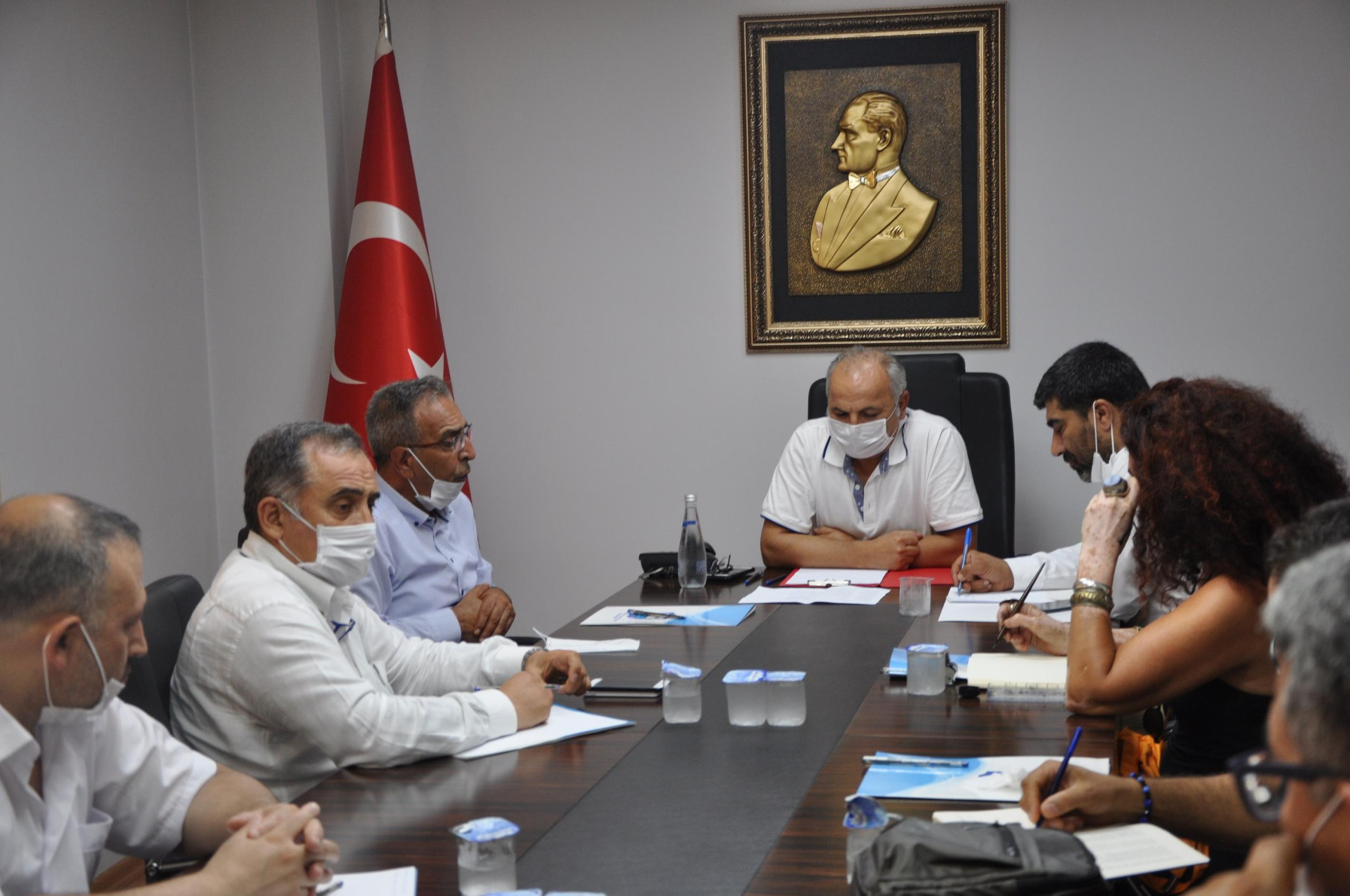"""MESOB Başkanı Dinçer, """"Ortak paydamız Mersin"""""""