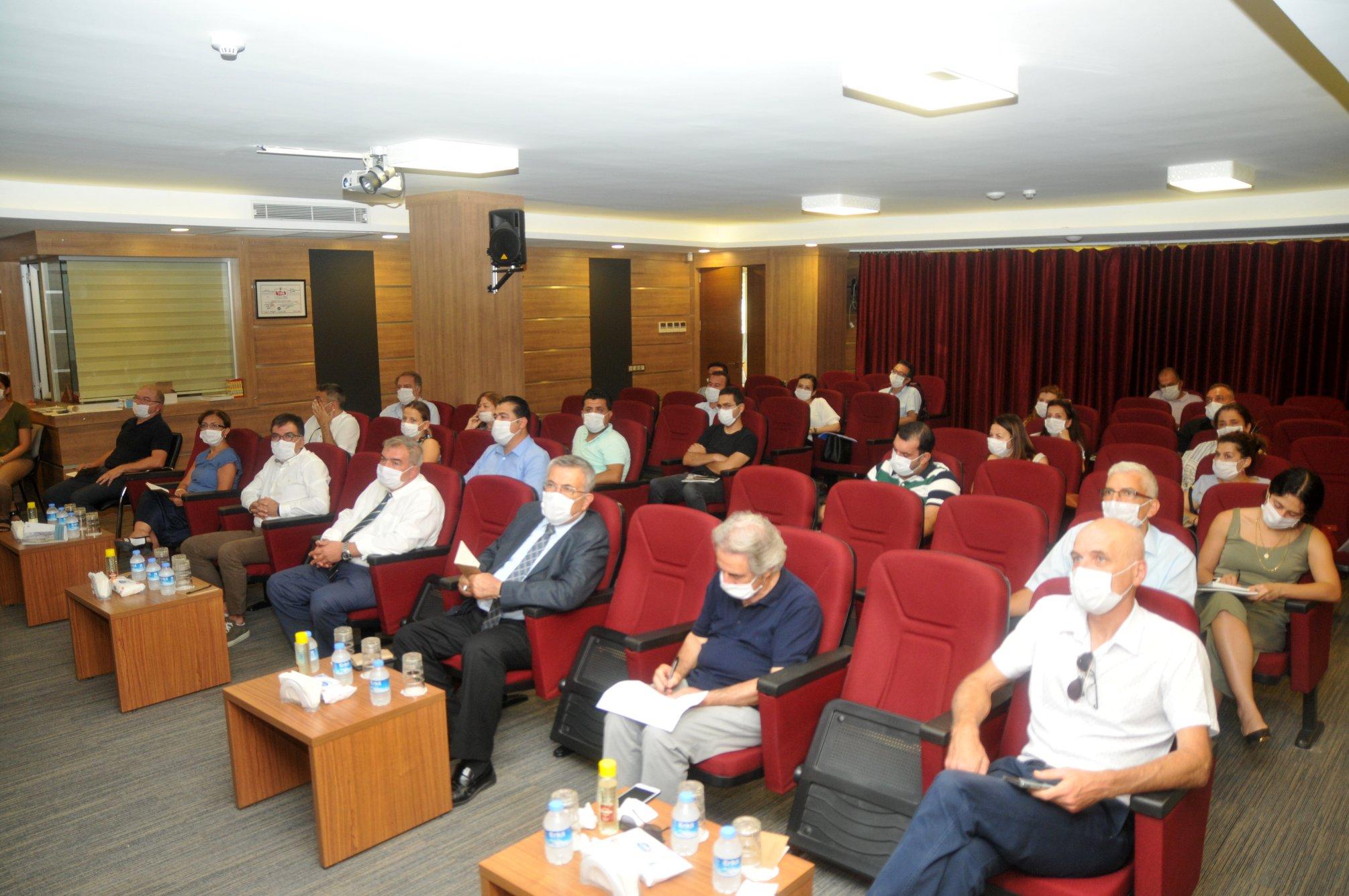 """Tarsus TSO'da """"Tarsus Alt Bölge DestinasyonÇalıştayı"""" düzenlendi"""