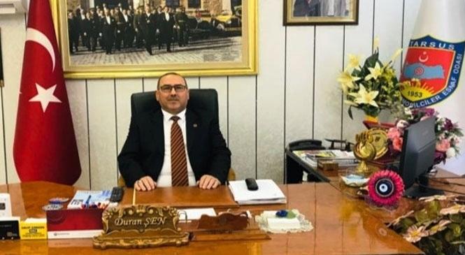 Başkan Duran Şen 10 Ocak Çalışan gazeteciler gününü kutladı