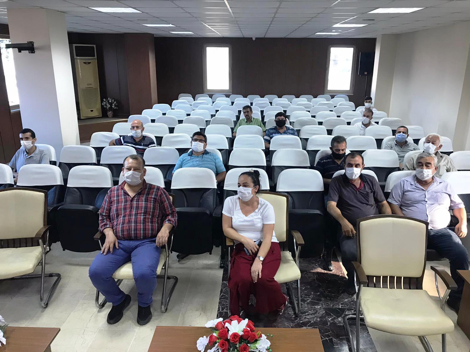 Tarsus'ta arı yetiştiricilerine yönelik Arıcılık Kursu açıldı.
