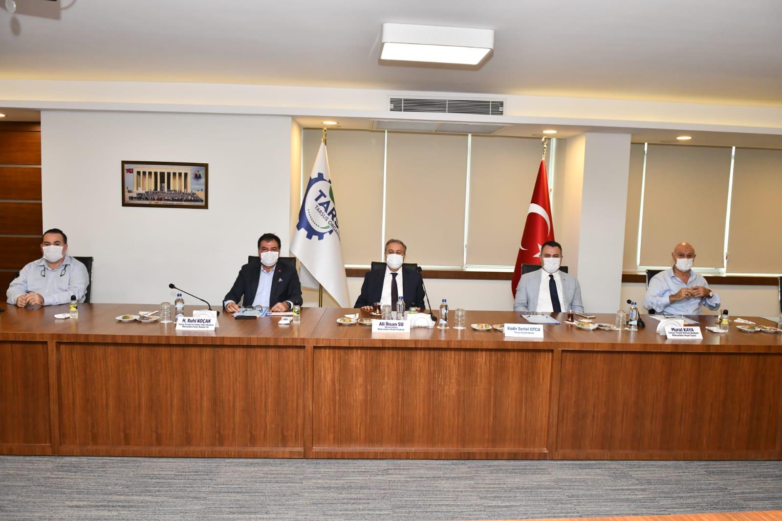 Tarsus Organize Sanayinin Eksiklerinin Tüm İhalesi Gerçekleşti