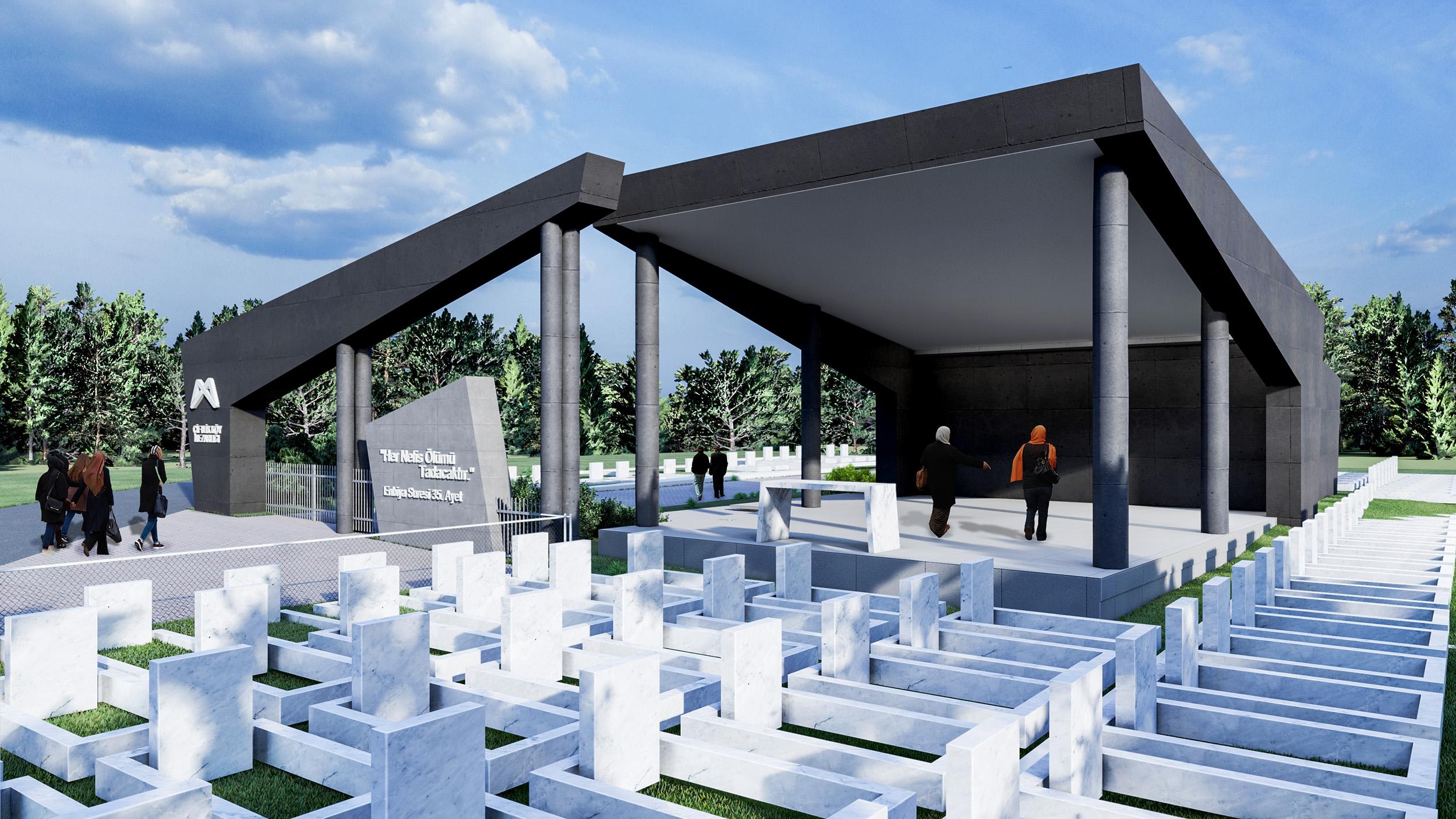 Tarsus mezarlığı 2021 yılının ilk çeyreğinde tamamlanacak