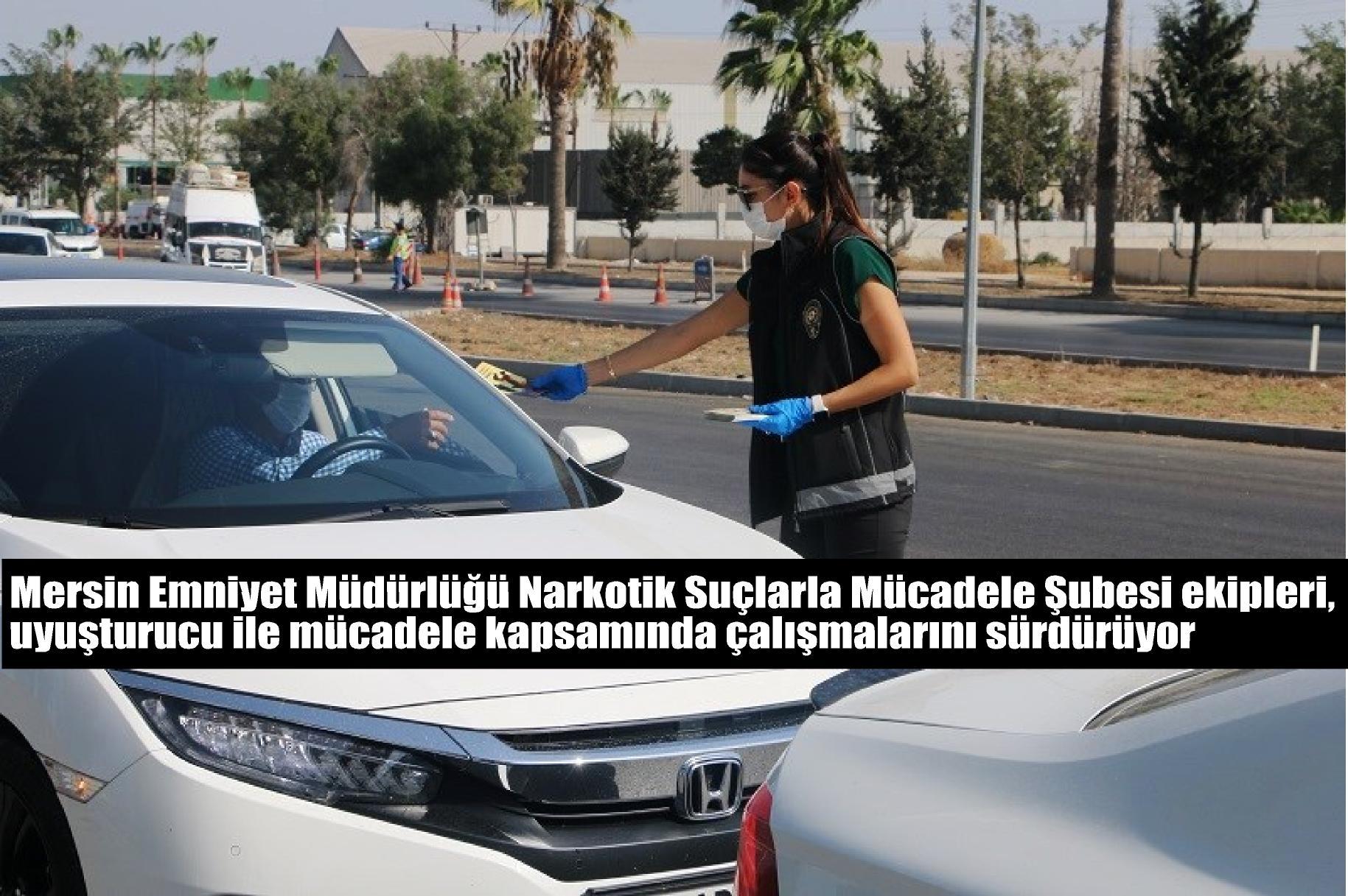 "NARKOTİK POLİSLERİNDEN ""NARKO REHBER"" STANDI"