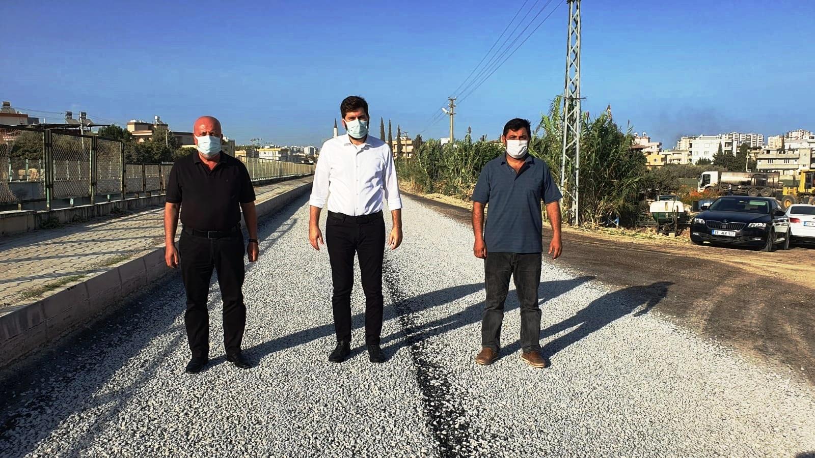 Mavi Bulvar – Bağlarbaşı Yolu asfalt kaplama yapıldı