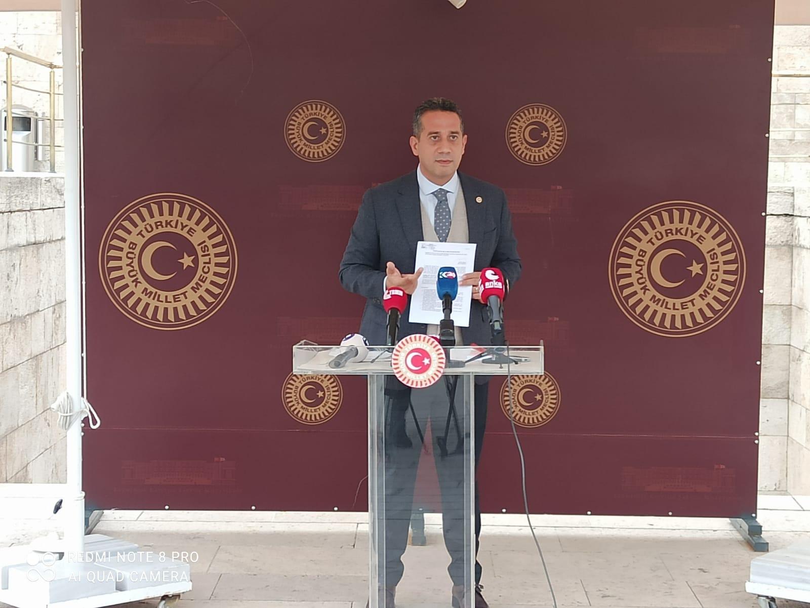"""CHP'li Başarır: """"Ne yazık ki yapı kayıt belgesi verilen hiçbir binanın denetimi yapılmıyor"""""""