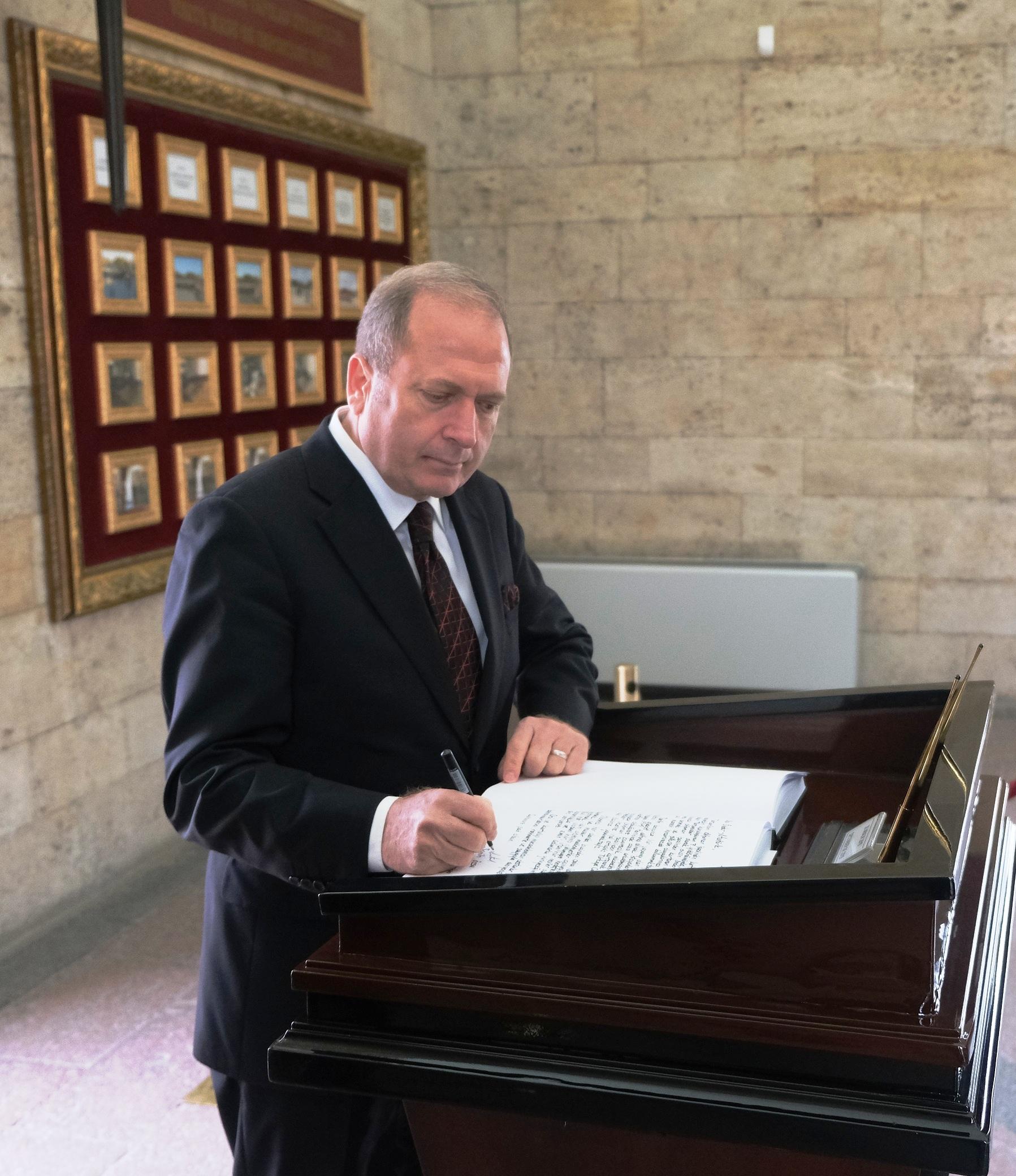 TADER Genel Başkanı Semih Özsu'dan ''10 Kasım Atatürk'ü Anma Günü'' mesajı