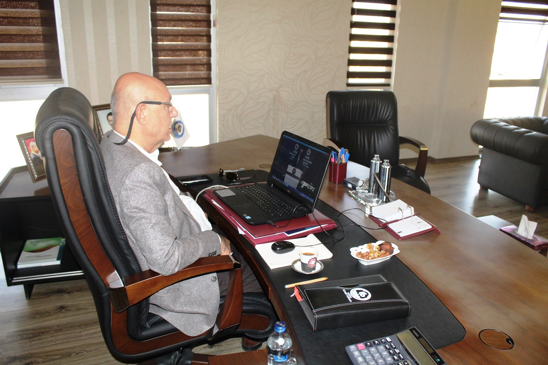 Başkan Kaya Ekonomi Şurası'na video konferans aracılığıyla katıldı