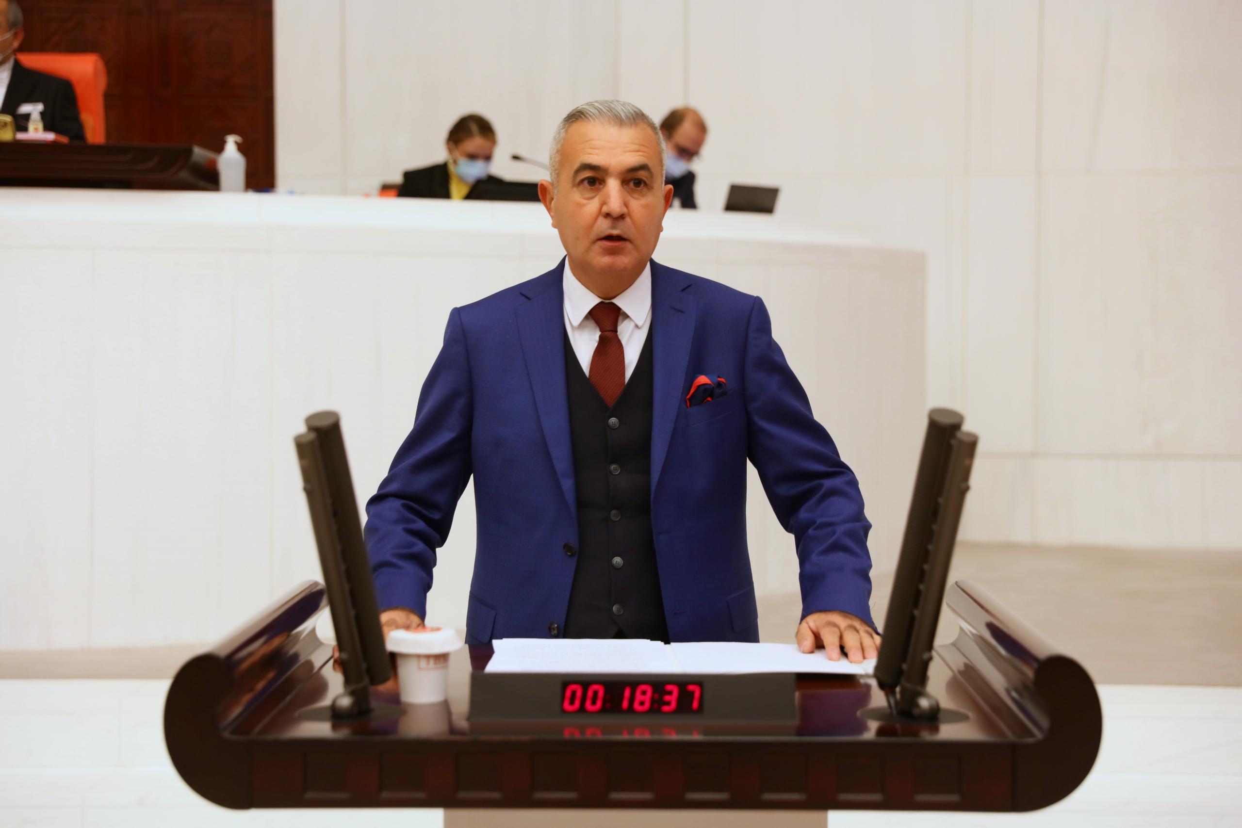 Milletvekili Şimşek: Adana-Mersin arası yol mutlaka 8 şeride çıkarılmalıdır