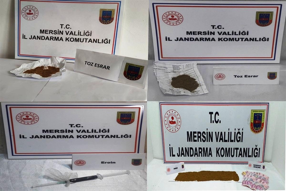 Tarsus ve Silifke'de Uyuşturucu Operasyonları…