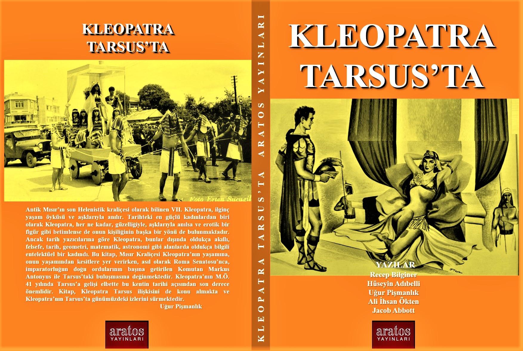 KLEOPTRA TARSUS'TA KİTABI ARATOS YAYINLARINDAN ÇIKTI