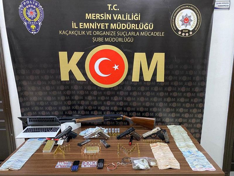 Organize Suç Örgütüne Operasyon