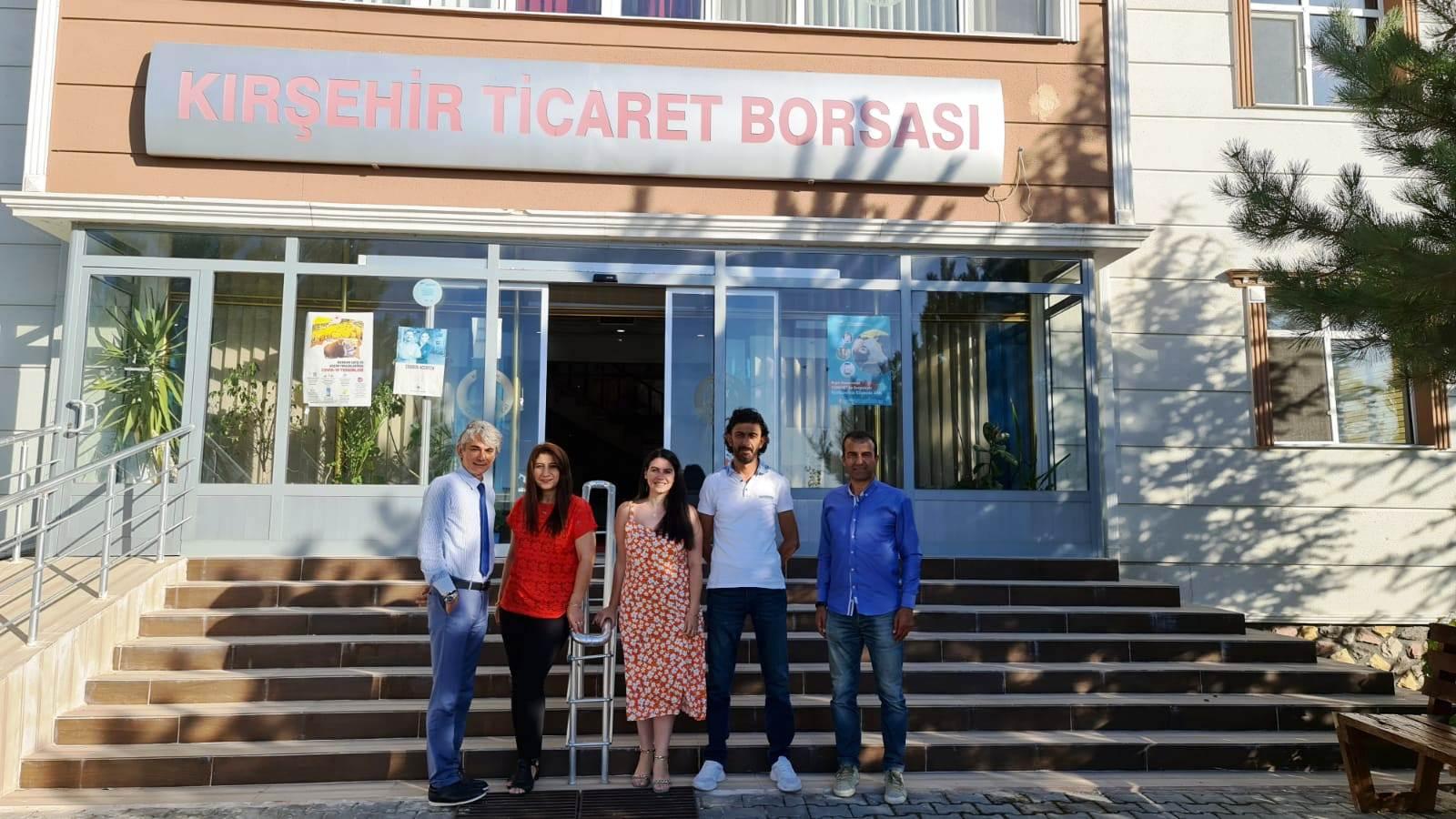 Kırşehir Ticaret Borsası'na Kıyaslama Ziyareti
