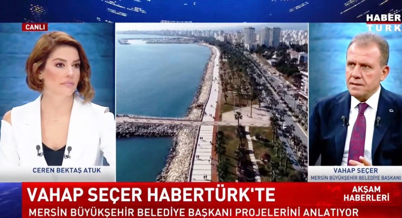 """""""MERSİN'İN MARKA KENT OLMASI YOLUNDA METRO ÇOK ÖNEMLİ BİR DEĞER"""""""
