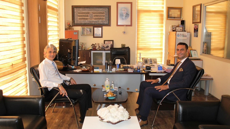 Tarsus SGK Müdürü Süleyman Metin'den Borsaya Ziyaret