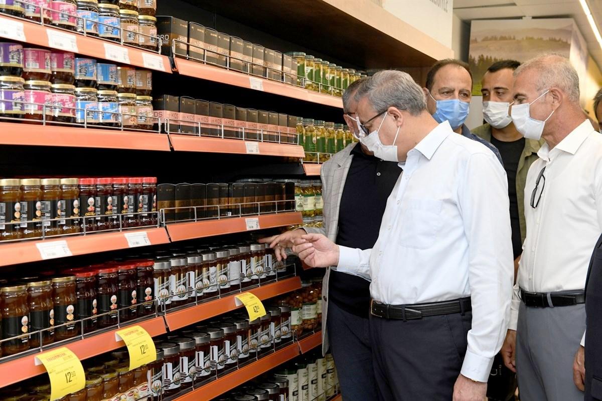 Tarım Kredi Kooperatif Market'i Mersin'de Açıldı